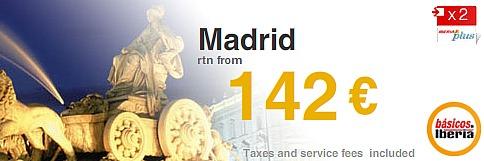 Προσφορές σε πτήσεις για Ισπανία