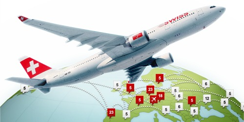 Swiss.com Flight Offers October 2011